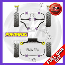 BMW E34 5 Series 535 540 M5 (88-96) Fits Alloy Arms Powerflex Complete Bush Kit