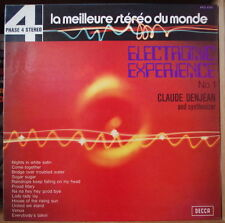 CLAUDE DENJEAN ELECTRONIC EXPERIENCE  N°1 FRENCH LP DISQUES DECCA PHASE 4 1973