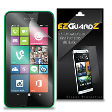 6X EZguardz NEW Screen Protector Skin Cover HD 6X For Nokia Lumia 530 (Clear)