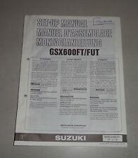 Montageanleitung / Set Up Manual Suzuki GSX 600 F / FU Stand 10/1995