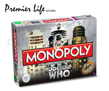 Monopoly Doctor Who Board Game-50th Anniversary edition