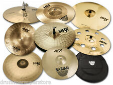 Sabian Cymbals TONY ROYSTER JR Complete Custom Cymbal Pack 8 Piece with GIG BAG