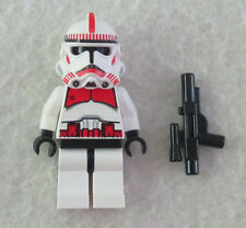 NEW LEGO STAR WARS SHOCK TROOPER MINIFIG red clone minifigure figure 7671 7655