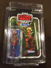 Star Wars Vintage Collection Ahsoka VC 102 Unpunched! TVC Clone Wars Case Fresh!