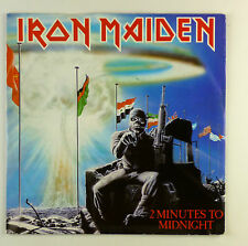 "7"" Single - Iron Maiden - 2 Minutes To Midnight - #S1088 - washed & cleaned"