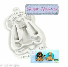 Katy Sue Design Lion Decoration Cake Crafting Silicone Mould Sugarcraft