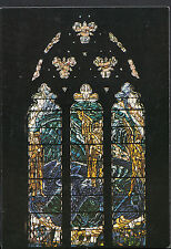 """Religion Postcard - Stained Glass Window, Winchelsea Church """"Wind and Sea""""  LE15"""