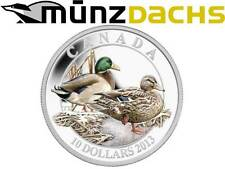 $10 Dollar Mallard Ducks of Canada .9999 fine silver coin Proof 2013 Sold Out