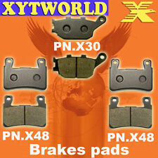 Front Rear Brake Pads Honda CB400 CB 400 NC39 Superfour