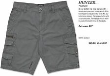 "NEW Dakine Hunter Pewter Gray Mens 32"" Casual Cargo Walk Shorts Msrp$65"