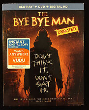 The Bye Bye Man (Blu-ray/DVD, 2017, 2-Disc Set, Includes Digital HD) -NEW-