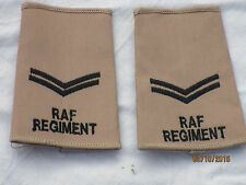 GB-Rangschlaufen: Corporal , Royal Air Force , khaki