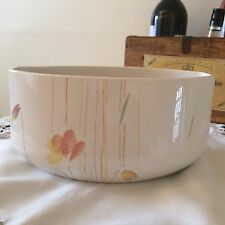 """MIDWINTER, """"CALYPSO"""". STYLE RANGE. LARGE OVAL POTTERY SERVING BOWL"""