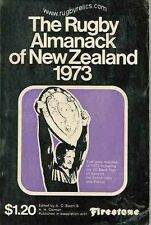 Rugby almanack of new zealand book 1973 all blacks rugby annuel