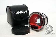 Titanium Japan Super Wide Macro Semi Fisheye lens for Fuji Nikon Canon Sony DSLR