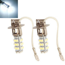2016 Lot 2 White H3 3528 SMD 28 LED Fog Headlight Car Signal Light Bulb Lamp