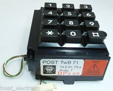 TWB71 Numerical Phone Keyboard Hagenuk  Keyboard Module