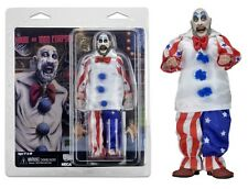 "House of 1000 Corpses Captain Spaulding 8"" Retro Clothed Figure NECA"