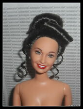 NUDE BARBIE MATTEL CELEBRITY ERICA KANE BRUNETTE UPSWEPT UPDO DOLL FOR OOAK