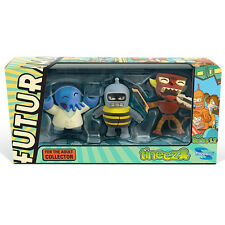 Futurama Tineez Series 1.2 3 Pack NEW Toys TV Show Toynami Figures