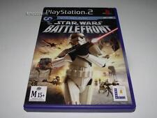 Star Wars Battlefront PS2 PAL Preloved *Complete*