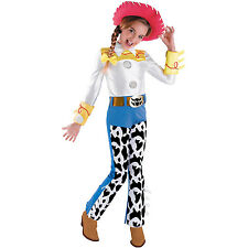 Toy Story Deluxe Jessie Kids Costume Medium ( Size 7-8 )