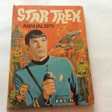 STAR TREK ANNUAL 1975 - Authorised Edition as seen on BBC TV