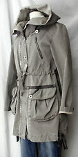 MARC CAIN chicer Mantel Trenchcoat Sz 1/ dt. 36-38 TOP