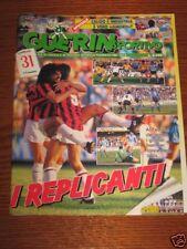RIVISTA=GUERIN SPORTIVO=N°9 1989=POSTER NAPOLI=
