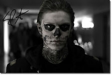 Evan Peters Firmata Autografo foto stampa 2-TOP QUALITY-American Horror Story
