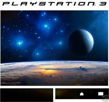 PlayStation 3 EARTH AND MOON SPACE Vinyl skin sticker ps3 sticker