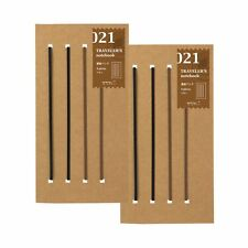 New Designphil traveler's notebook Diary 2 Packs Connecting band 021 F/S