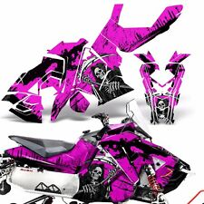 Sled Wrap for Polaris AXYS RUSH Pro S Graphic Snow Decal Kit Snowmobile REAP PNK
