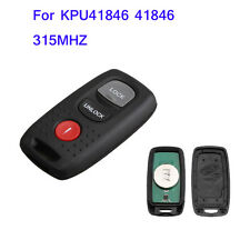 New Keyless Entry Replace For 2004-2008 Mazda 3 6 KPU41846 Remote Car Key Fob