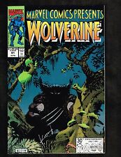 Marvel Comics Presents #8 ~Wolverine/ Sam Keith Signed,both sides~ 1991 (9.6) WH