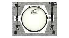 "【XM】18"" Electronic Bass Drum with 2 clamps and steel pipes (no stand or pedal)"