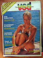 VSD n°209 sylvie vartan 1981
