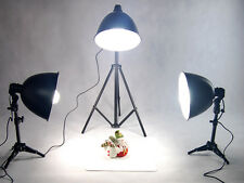 Treppiede Luce Softbox Riflettore Lampada Treppiede 4 JEWELS Kit Con Lampadine PRO NUOVO