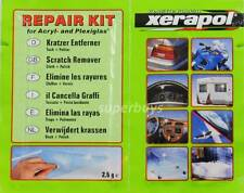 Xerapol Acrylic Plastic Plexiglass Scratch Remover Remove Removal Polish + Cloth