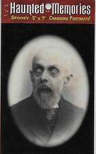 """GRANDPA ZACHARY"" 5x7 LENTICULAR HAUNTED MEMORIES CHANGING PORTRAITS"