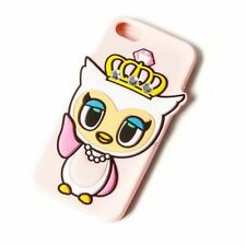 tokidoki iPhone Case 5C Fancy Owl Case Jewel Crown Neon Star Pink Loungefly NWT