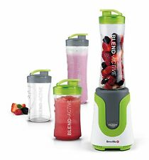 Breville Blend-Active Personal Blender Family Pack, White & Green. Fast Delivery