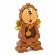 LA BELLA E LA BESTIA TOCKINS COGSWORTH OROLOGIO A PENDOLO CLOCK WATCH DISNEY #1