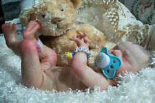 Reborn Preemie Baby Boy, Joey with anatomically correct boy body-Max sculpt-SALE