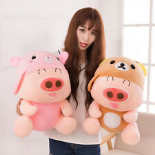 New 3 Colors Random Cute Pig Piggy Animal Baby Stuffed Plush Toy Gift