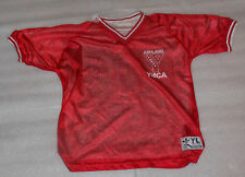 Ashland Sports YMCA Red White Reversible Soccer Jersey - Size Youth Large