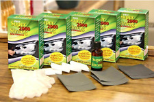 SUPER STRONG 2000)CAR HEADLIGHT☆RESTORATION KIT☆LENS CLEANER☆RESTORE☆CLEAN☆CLEAR