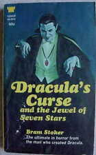 Bram Stoker DRACULA'S CURSE AND THE JEWEL OF SEVEN STARS 1968 L@@K WOW!!!