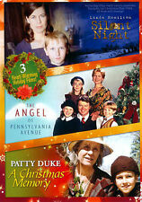 Silent Night/The Angel of Pennsylvania Avenue/A Christmas Memory (DVD, 2013)