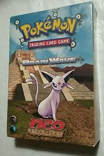 POKEMON TRADING CARD GAME BRAIN WAVE THEME DECK NEO DISCOVERY - BOX ONLY - RARE